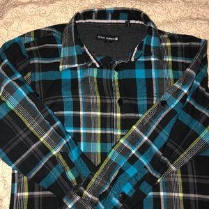 Boys button down flannel